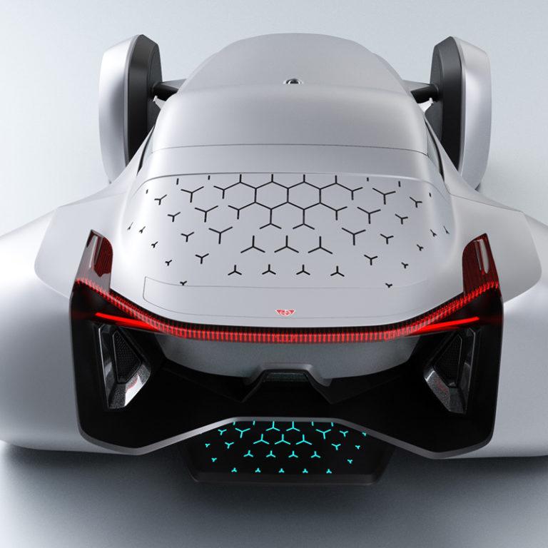 Donkervoort EVx Concept Design