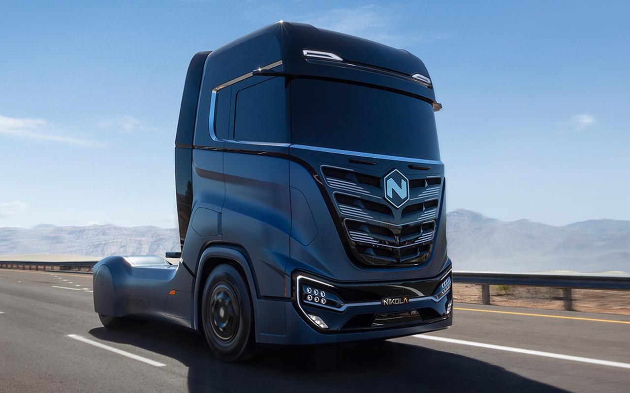 Nikol Tre Truck Design by One One Lab Design Studio